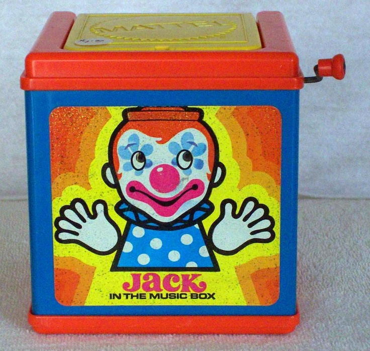 17 Best Images About Jack In A Box Toy On Pinterest