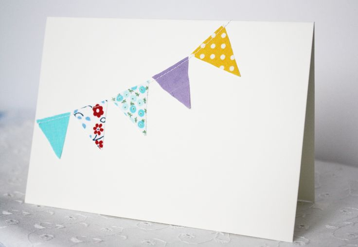 Bunting cards for any occasion