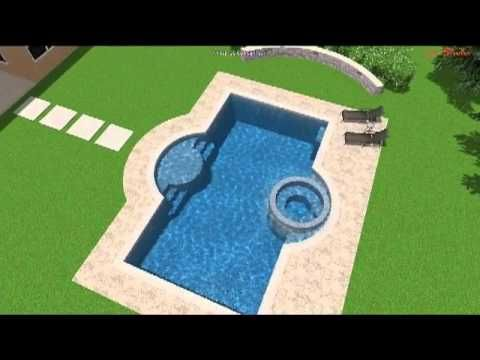 Rectangular Pool Designs With Spa best 25+ rectangle pool ideas only on pinterest | backyard pool