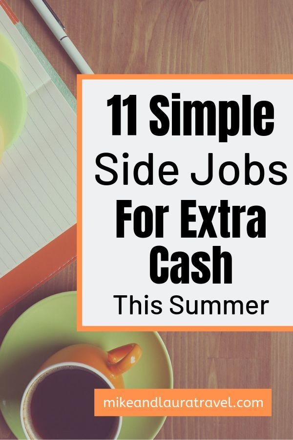The best way to save extra money is by earning extra money! Use these 11 side jo… – Side Hustles