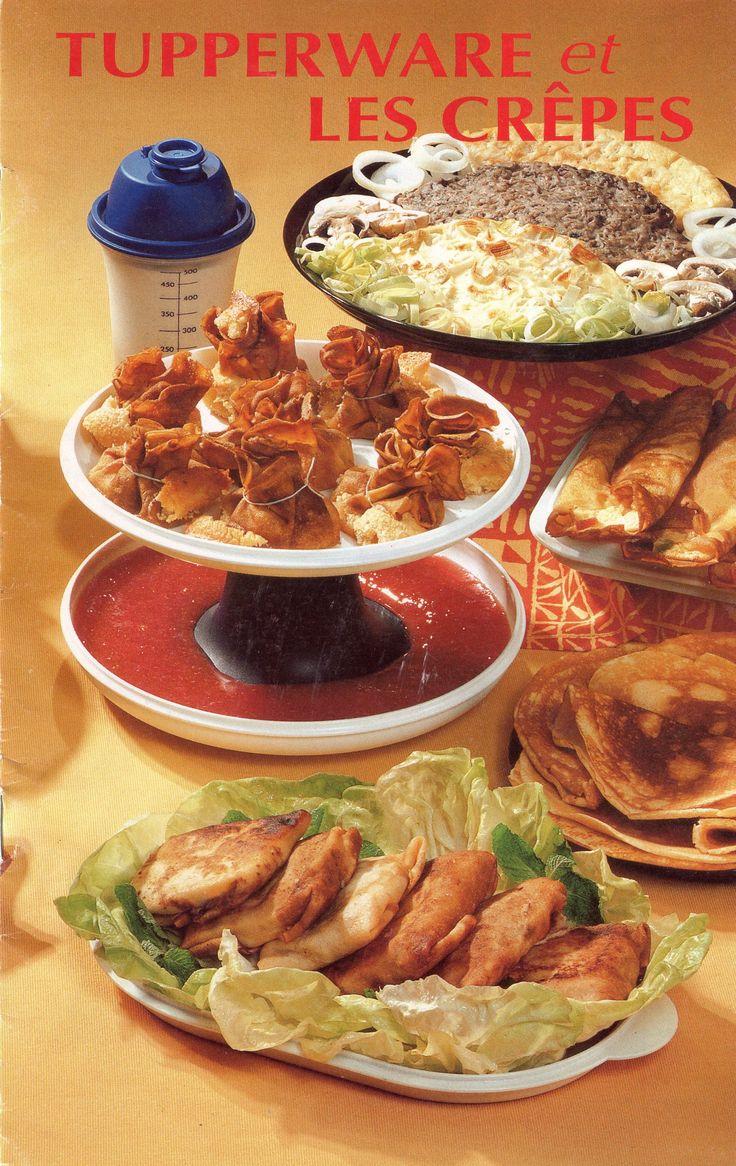 Tupperware et les crêpes
