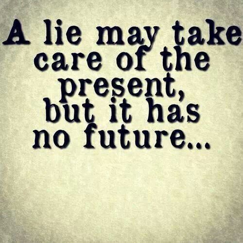 I wish people did not lie. I know some people that lie to each other, so people will like them as a person or to just agree with them. It is better to tell the truth to them, instead of lying. But now it is starting to catch up with them.