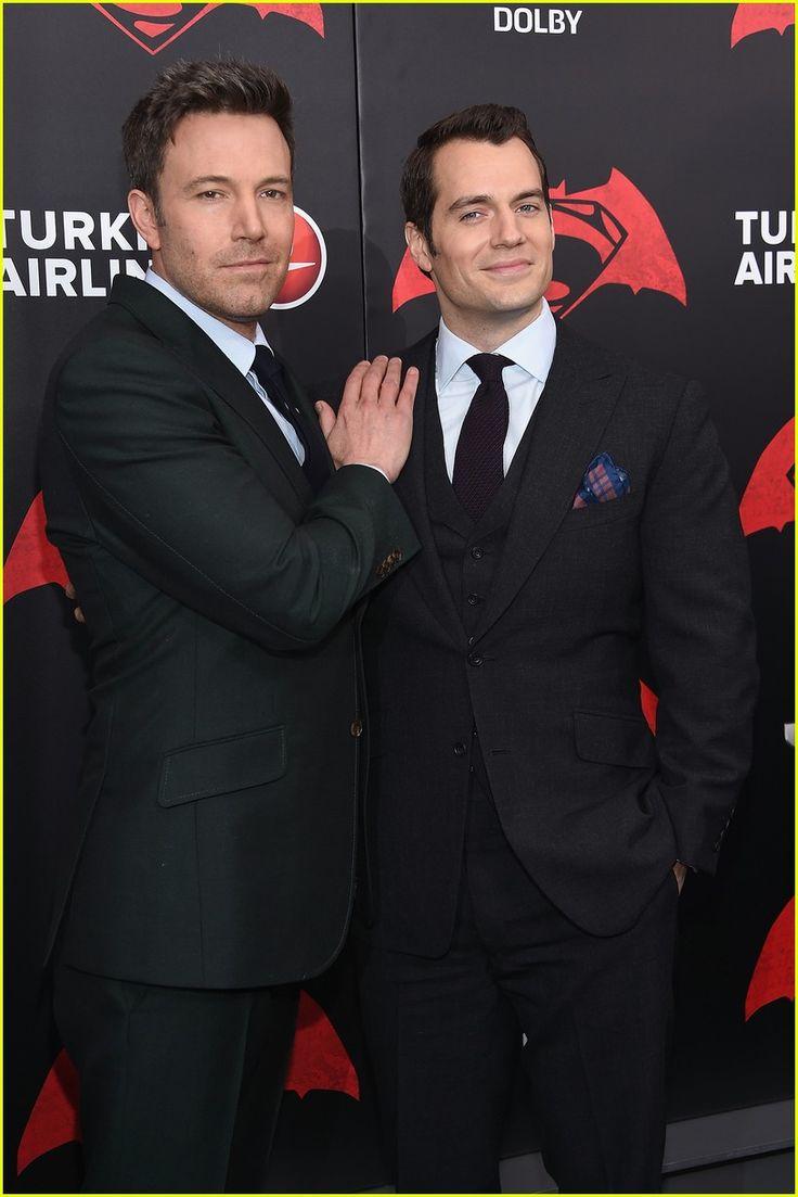Ben Affleck & Henry Cavill