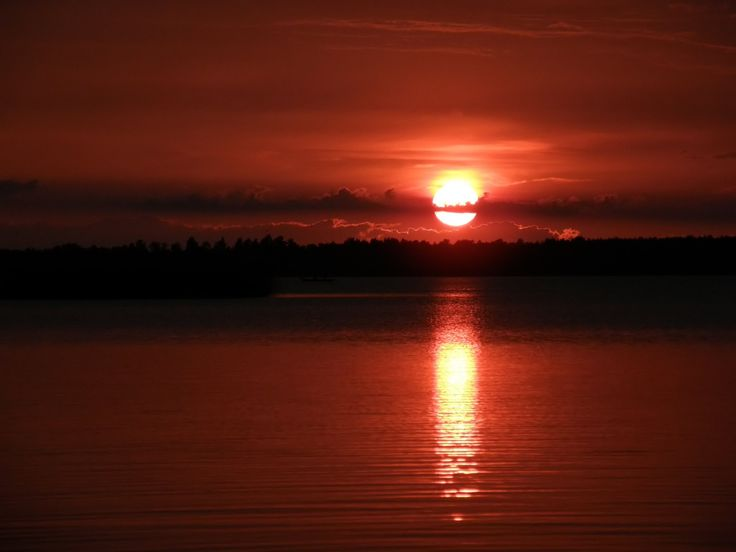 Desktop Wallpaper · Gallery · Nature · Sunset big river background ...