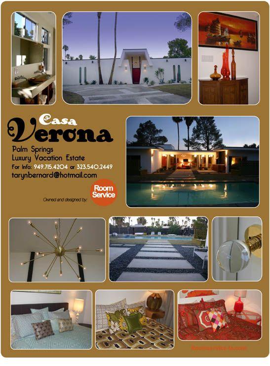 Casa Verona Modern Vacation Home Rental In Palm Springs