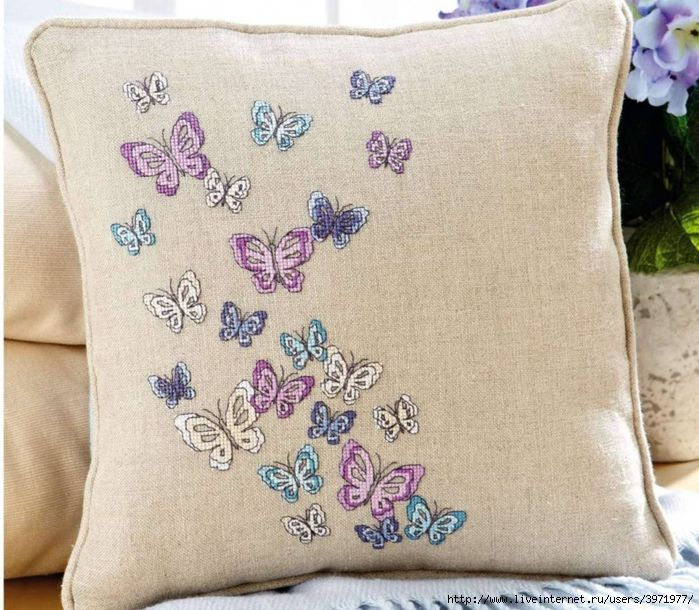 Cross-stitch Butterflies, part 1