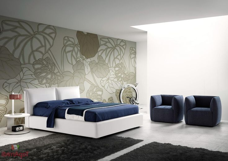 wallpaper accent wall master bedroom - Google Search