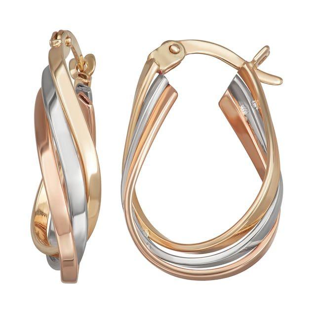 29++ Kohls jewelry gold hoop earrings ideas in 2021