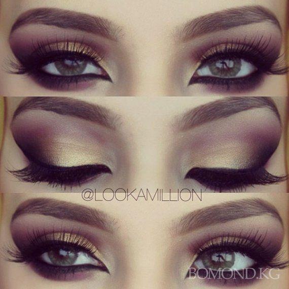 сделать арабский макияж глаз