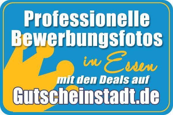 Mit Glück Geld sparen bei professionellen #Bewerbungsfotos in #Essen mit #Gutscheinstadt