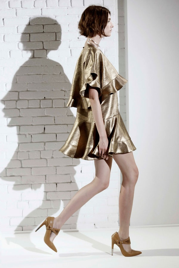 Zimmermann Resort 2014 delicious gold frock