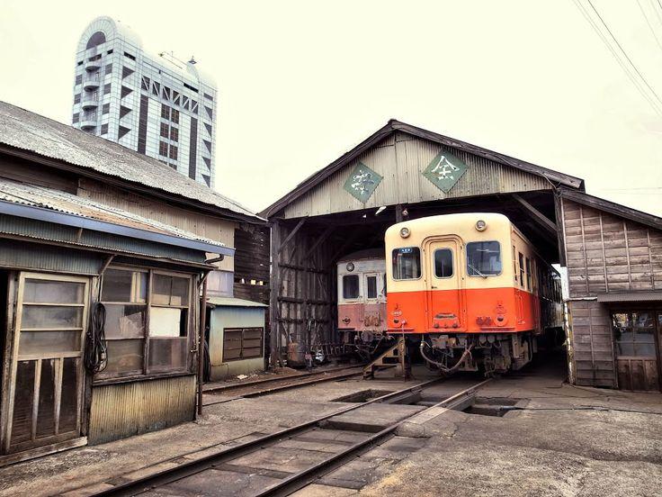 Kominato Line Goi Rail Yard 小湊鉄道 五井機関区 キハ5800形 キハ200形