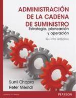Ingebook - ADMINISTRACIÓN DE LA CADENA DE SUMINISTRO - Estrategia, planeación y operación