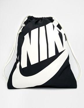 Nike Heritage Gymsack in Black