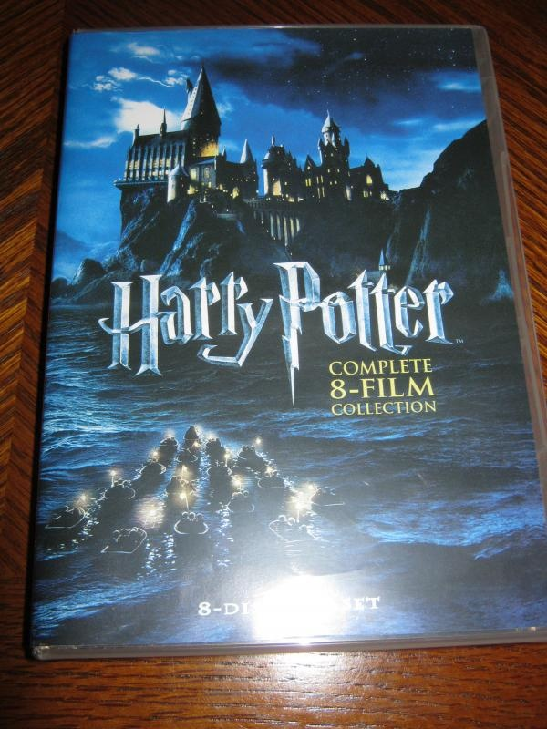 Auctionopia: HARRY POTTER FULL DVD BOX SET