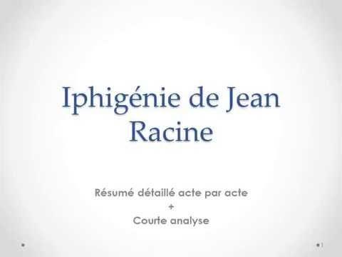 Jean Racine – Iphigénie | À la française …