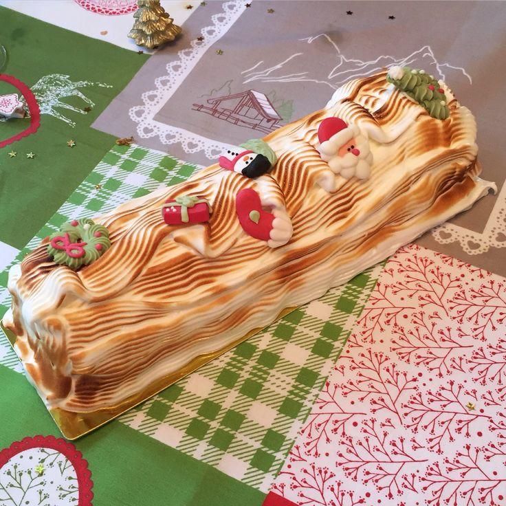 Omelette norvégienne façon bûche de Noël :)