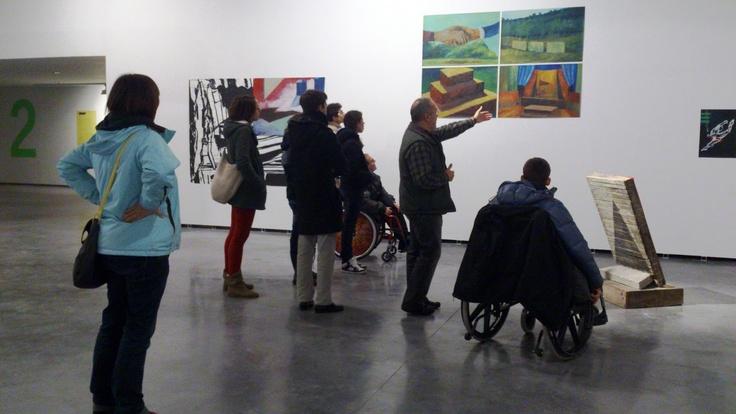 EL MUNDO DE GONZALO: LOS ESPCPIEALISTAS EN EL MUSEO ARTE CONTEMPORANEO