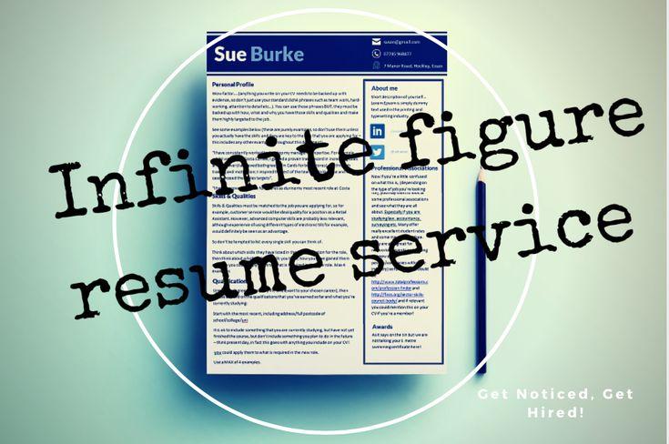 Infinite Figure Resume Service | Susan Burke Store