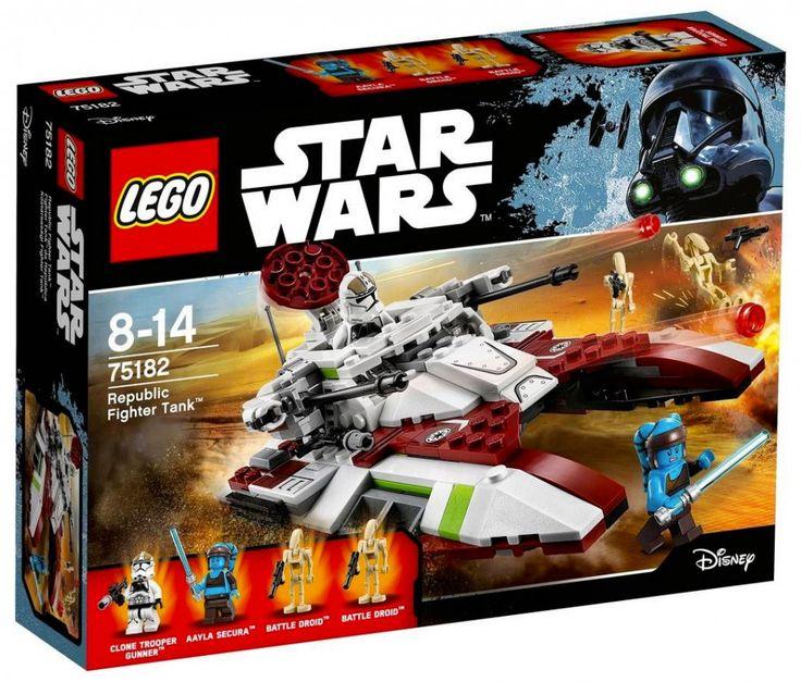 LEGO Star Wars 75182 : Republic Fighter Tank - Juin 2017