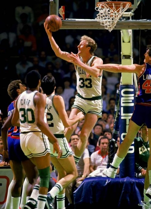 Larry Bird! We really miss when the game was played by guys like this and this…