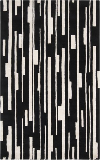 Candice Olson designed this linear graphic rug for Surya. (CAN-1998)