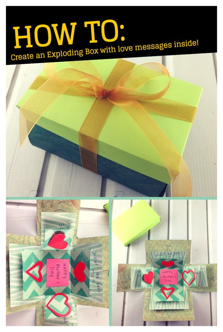 Exploding Box Card with Love Messages! - iSaveA2Z.com