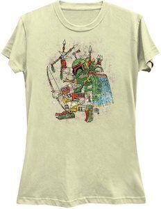 Star Wars Aztec Boba Fett T-Shirt