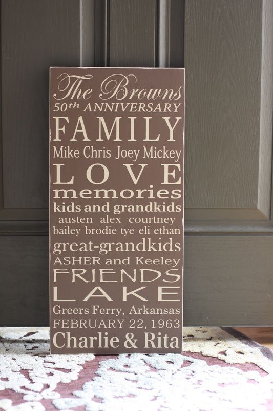 171 best images about 50th wedding anniversary on for 50 wedding anniversary gifts for parents