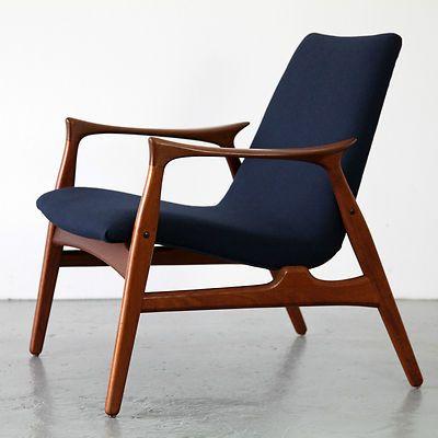 easy chair 240 by arne hovmand olsen for mogens kold. Black Bedroom Furniture Sets. Home Design Ideas