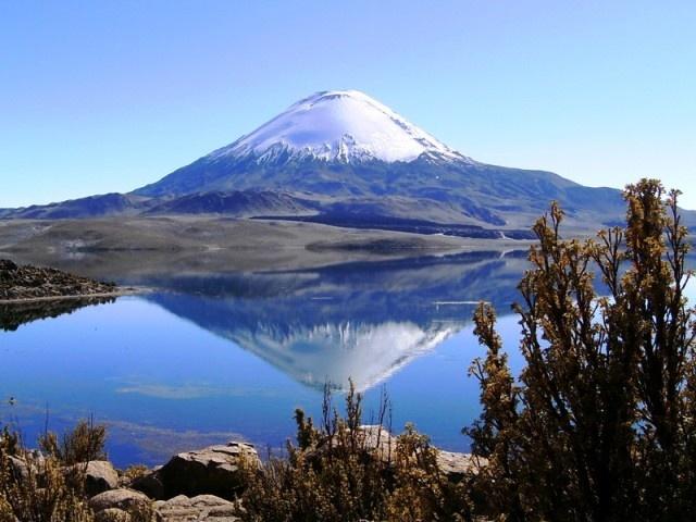 Lago Chungara, San Pedro de Atacama, Norte de Chile