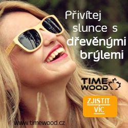 dřevěné sluneční brýle od TimeWood