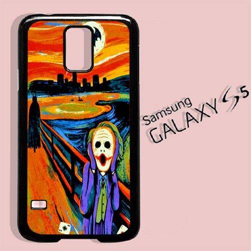 SCREAM BATMAN and JOKER For Samsung Galaxy S5 Case