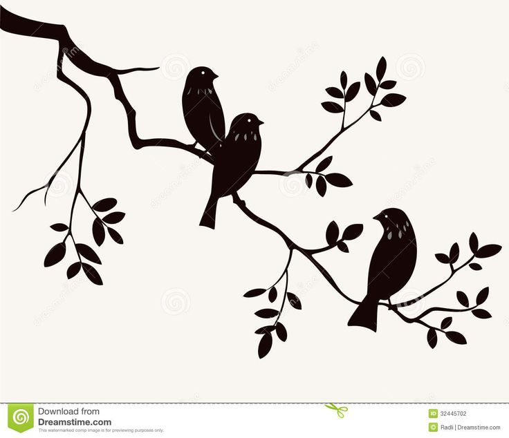 Birds On Twig - Download From Over 28 Million High Quality Stock Photos, Images, Vectors. Sign up for FREE today. Image: 32445702