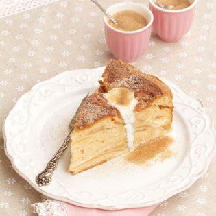 Apfelschichtkuchen