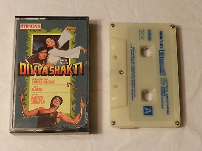 Divya Shakti 1993 Bollywood film music Cassette   Nadeem-Shravan