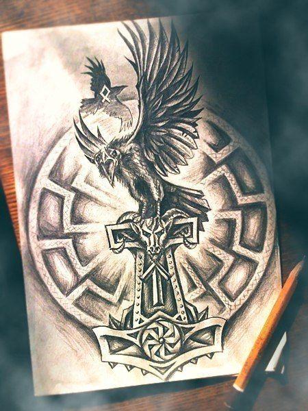 8 best nordische mythologie images on pinterest norse mythology viking tattoos and nordic tattoo. Black Bedroom Furniture Sets. Home Design Ideas