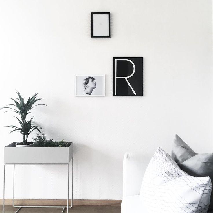 ferm living plant box light grey. Black Bedroom Furniture Sets. Home Design Ideas
