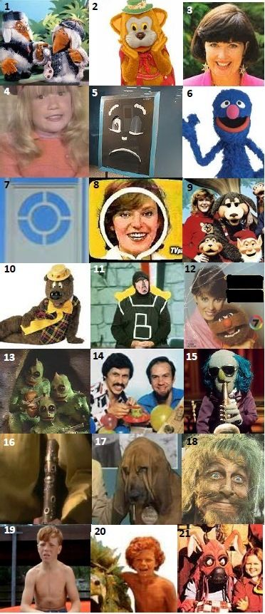 KIDS TV SHOWS - Can you name these kids TV shows that aired in Australia during the 70s?