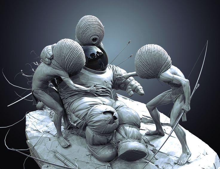 Making of Help 3D Art by SVJEETA SVJEETA is a Freelance Artist from Prague, Czech Republic. Working