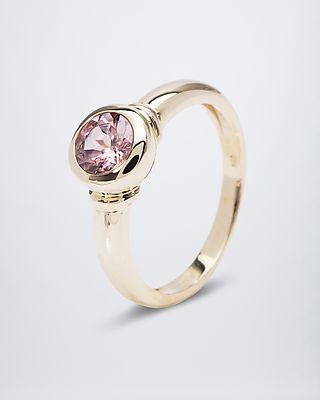 Sogni d'oro Goldring mit Zirkon  #Edelstein #schmuck von #sognidoro #gemstone #jewelry by #sogni doro
