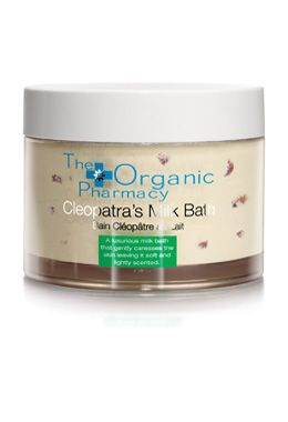 organic pharmacy cleopatra's milk bath. the perfect Valentine's Day gift to make a loved one feel like a queen!