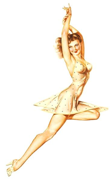 Alberto Vargas - this is the vargas girl that i want to get tattooed as a side panel on my right side