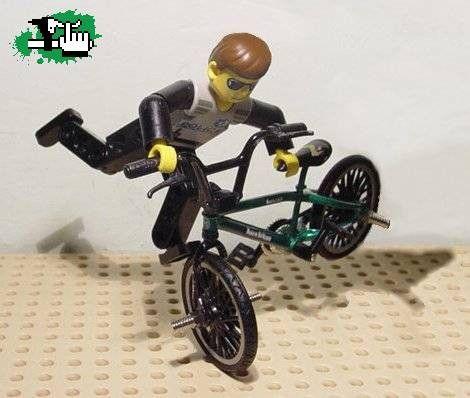 Lego Bmx Claarobolu Bmx And Lego