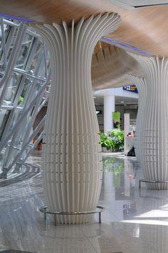 column interior design - Google Search