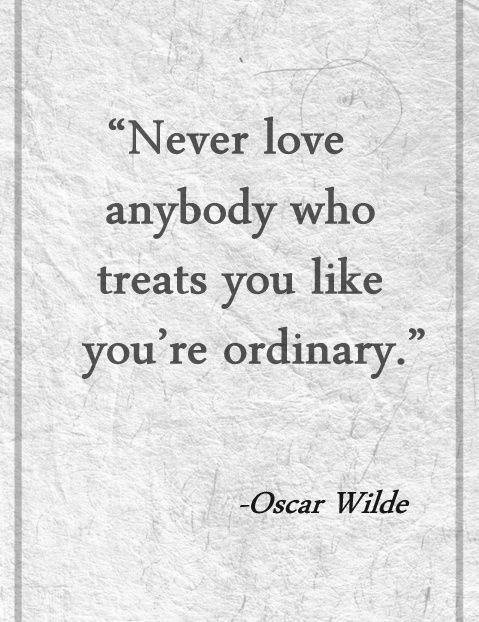 Oscar Wilde love quote... taaan cierto!