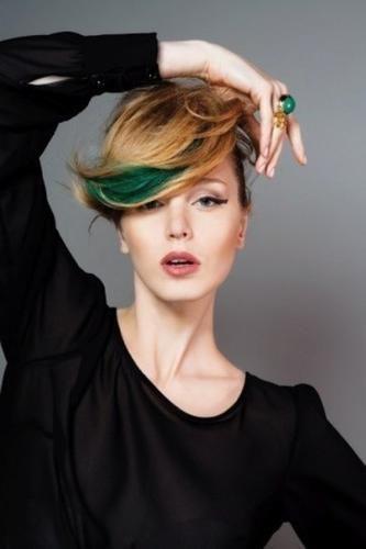 #Moda: #Trend 2016: capelli corti colorati da (link: http://ift.tt/1TIP4Q6 )