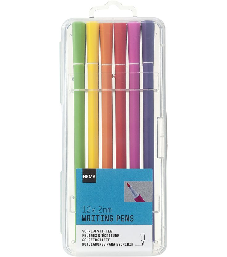 lot de 12 stylos feutres