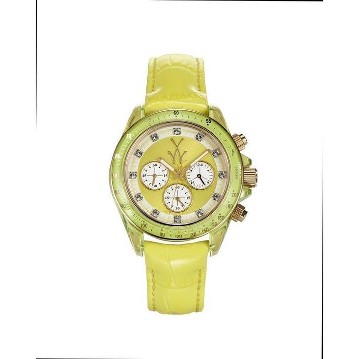 ToyWatch Toyglass Yellow TGLS04YL, Women's