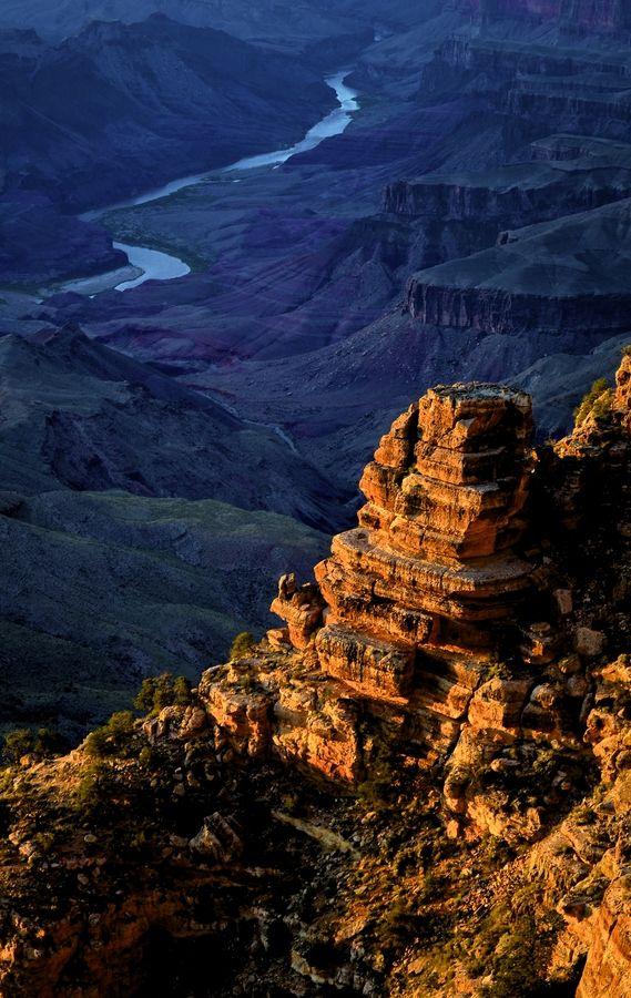 """ღღ Breathtaking!!   """"Grand Canyon River"""" by Lorenzo Agnes"""